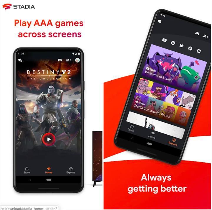 Google Stadia uygulaması Play Store'da yayınlandı