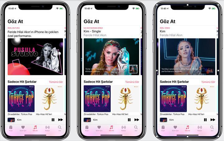 Apple Music platformunda stüdyo günleri başlıyor
