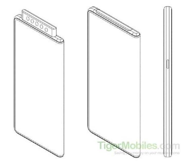 Xiaomi beş açılır ön kameraya sahip telefon tasarladı