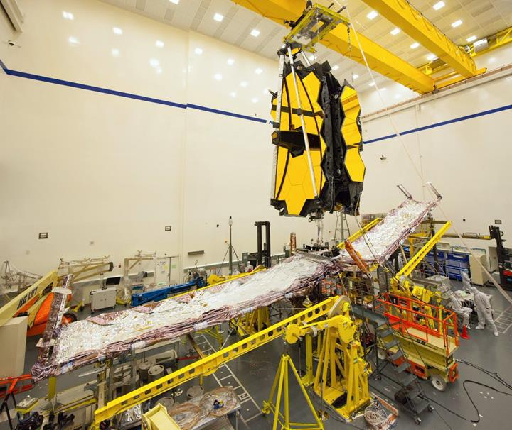 NASA, James Webb Uzay Teleskobu'nun yeni görüntülerini paylaştı