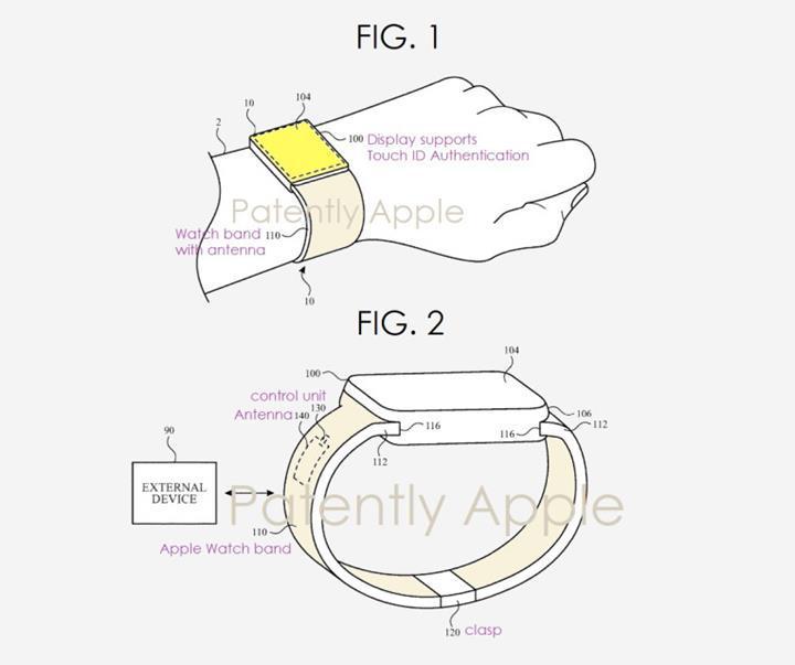 Yeni nesil Apple Watch'lar ekrana gömülü parmak izi okuma sensörleri ile gelebilirler