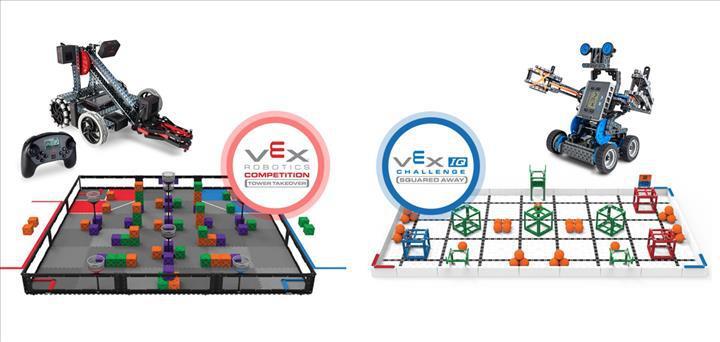 VEX Robotics Yarışması, 16-17 Kasım tarihlerinde Nişantaşı Üniversitesi'nde