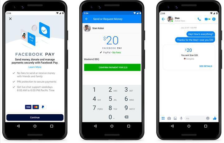 Facebook Pay ile Facebook uygulamalarında ödeme dönemi başlıyor