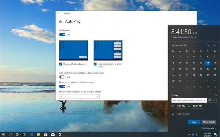 Windows 10 Kasım güncellemesi dağıtıma çıktı