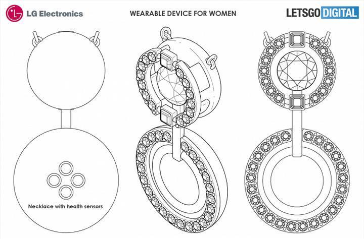 LG kadınlara yönelik, aksesuar şeklinde giyilebilir cihazlar geliştiriyor