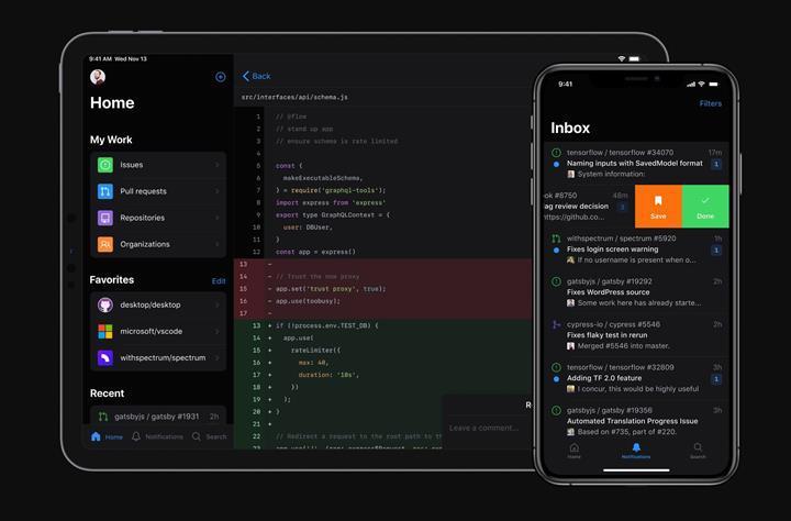 GitHub resmi Android ve iOS uygulamalarını duyurdu