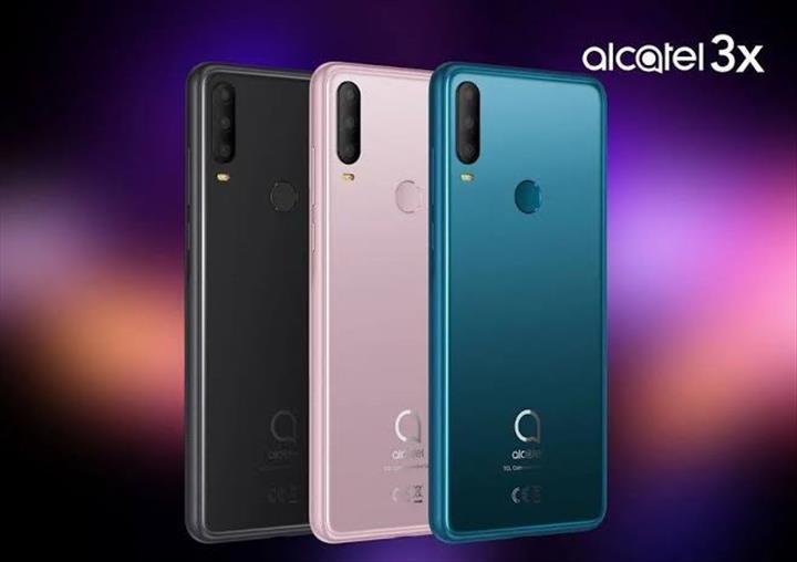 Yeni Alcatel 3X modeli ülkemizde satışa çıktı