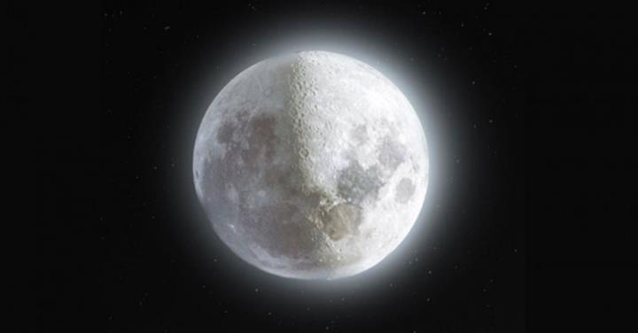 Ay'ın 500 kareden oluşan 52 megapiksellik harika fotoğrafı