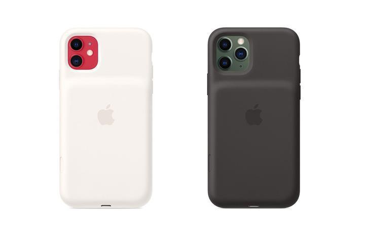 Apple'dan iPhone 11 modelleri için denklanşör butonuna sahip şarjlı kılıf