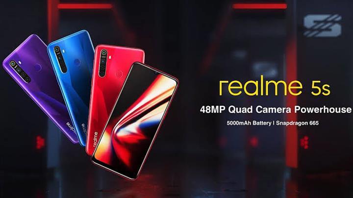 4 arka kameralı Realme 5s tanıtıldı