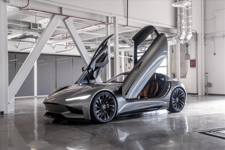 Tesla'nın rakibinden 1,100 beygirlik elektrikli otomobil konsepti: Karma SC2