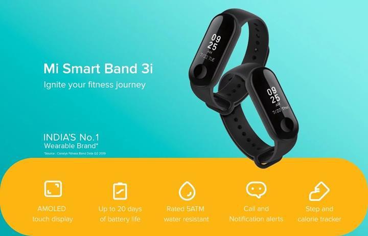 Xiaomi en ucuz akıllı bilekliğini tanıttı: Mi Smart Band 3i