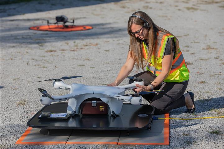 Drone taşımacılığı için tam onay alan ilk şirket UPS oldu