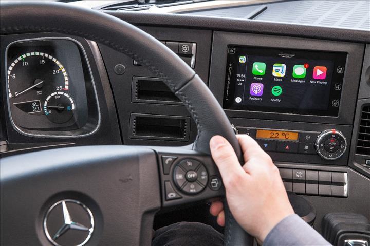 Mercedes-Benz Türk'ün İstanbul'daki Ar-Ge merkezinde geliştirilen teknolojiler tüm dünyada kullanılıyor