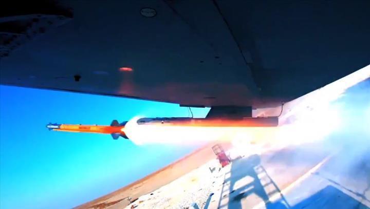 Bozdoğan Füzesi ilk güdümlü atış testini başarıyla tamamladı