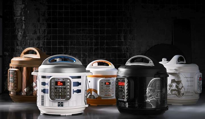 Star Wars temalı elektrikli pişirici satışa sunuldu