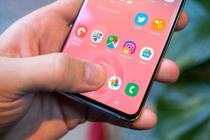 Samsung ultrasonik parmak izi tarayıcısından vazgeçiyor