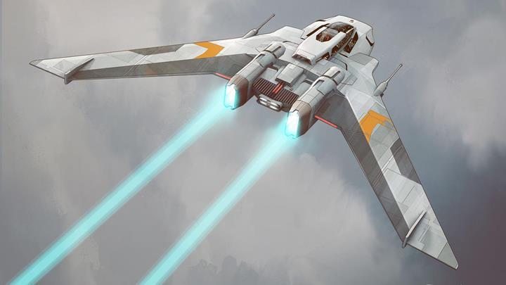 Porsche'nin yeni Star Wars filmi için tasarladığı uzay gemisi ortaya çıktı