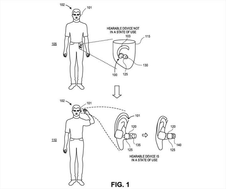 Gelecek AirPods modelleri, kulağa takılı olduğunu algılamak için hava basıncını kullanabilir