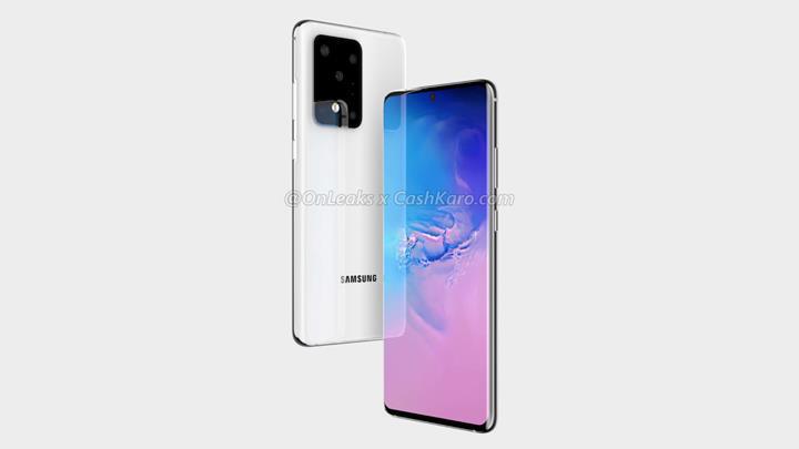 Samsung Galaxy S11 Plus'ın tasarımı netleşti
