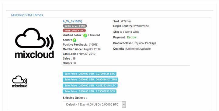 21 milyon Mixcloud kullanıcısının verileri dark webde satışa sunuldu