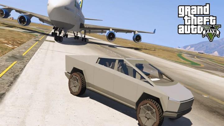 Tesla Cybertruck, GTA 5'e geldi