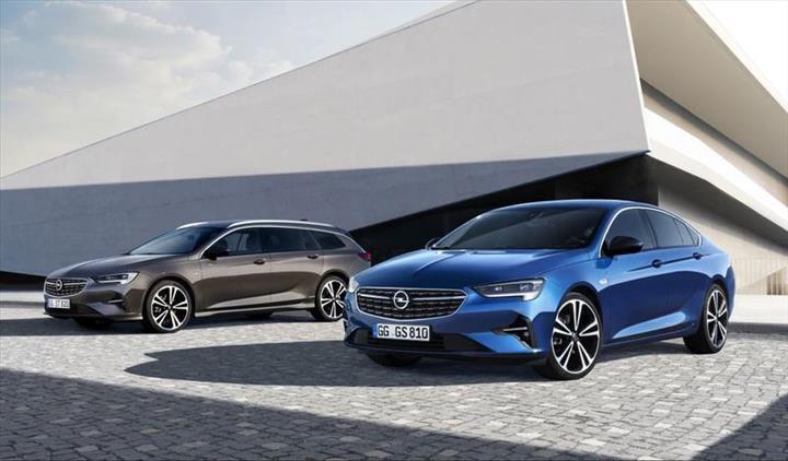 Makyajlı Opel Insignia'nın tasarımı ortaya çıktı