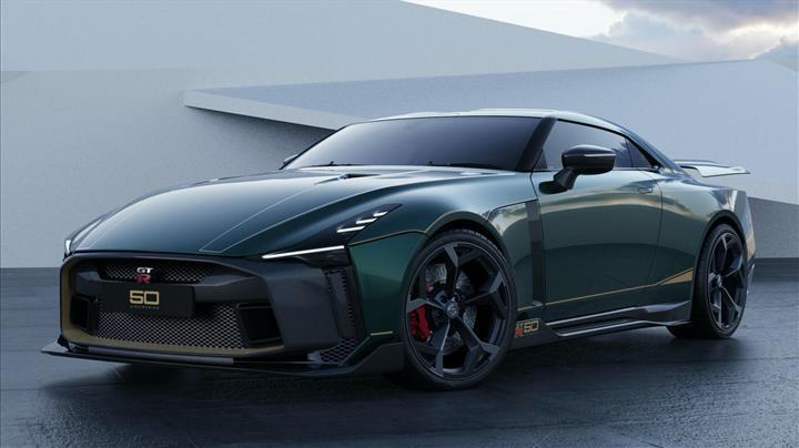 1.12 milyon dolarlık Nissan GT-R50'nin üretim versiyonu karşınızda