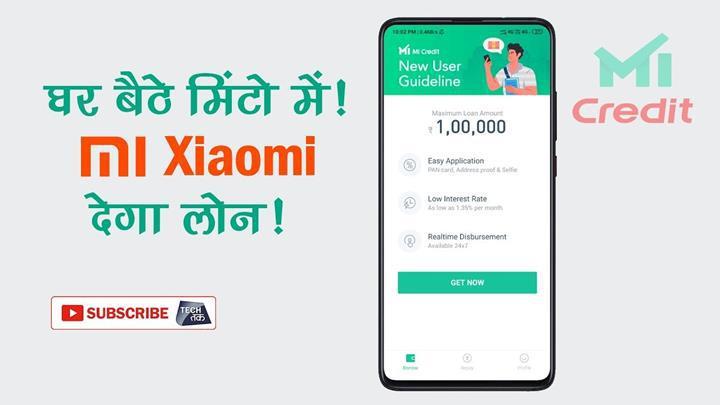 Xiaomi'den kredi veren uygulama: Mi Credit