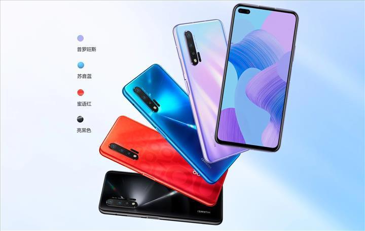 Huawei Nova 6 ve 6 5G modelleri tanıtıldı