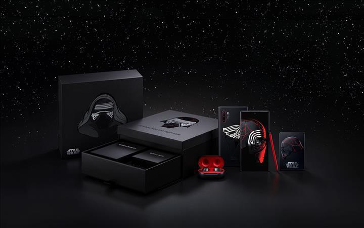 Türkiye'de de satılacak olan Samsung Galaxy Note10+ Star Wars Edition ön siparişe hazır