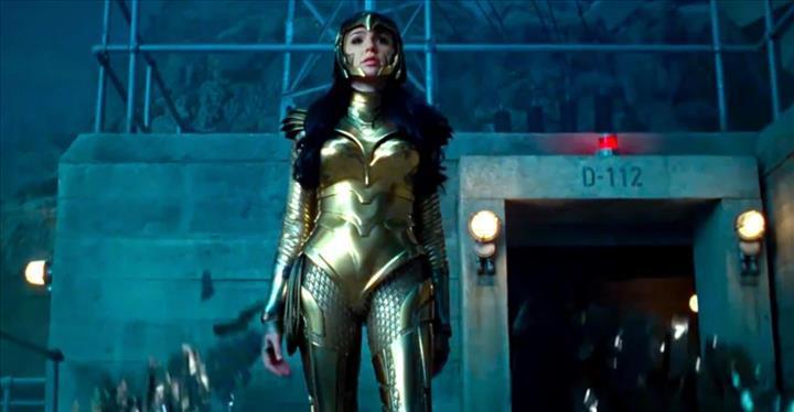 Wonder Woman 1984 filminden ilk fragman yayınlandı