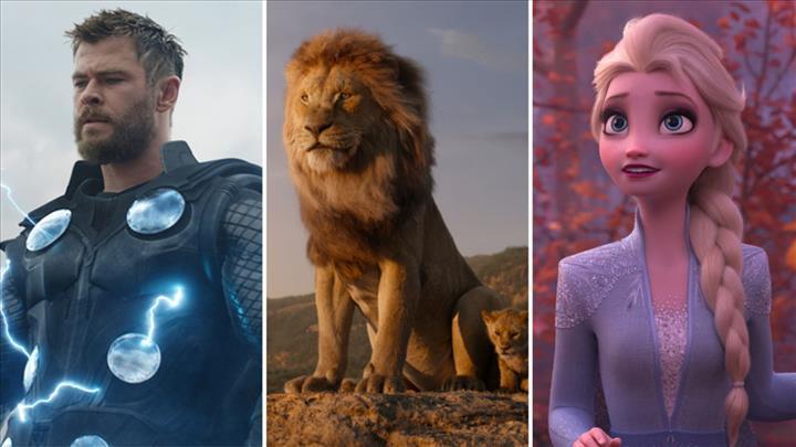 2019'da 10 milyar dolar gişe hasılatı yapan Disney, sinema tarihine geçti