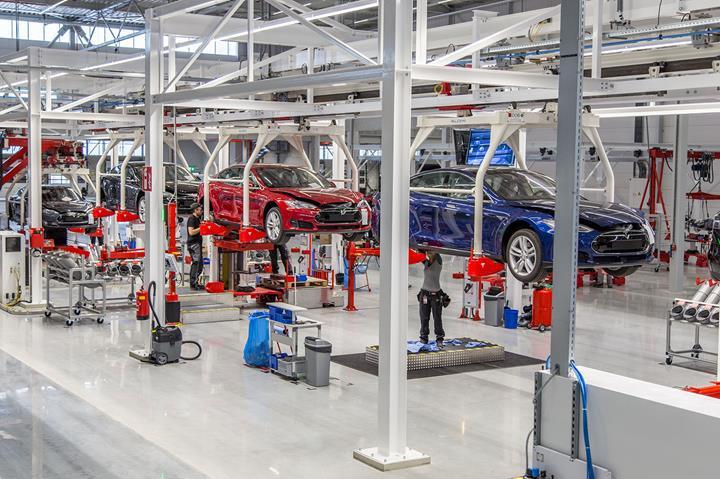 Tesla, Almanya'daki fabrikasında yılda 500.000 elektrikli otomobil üretecek