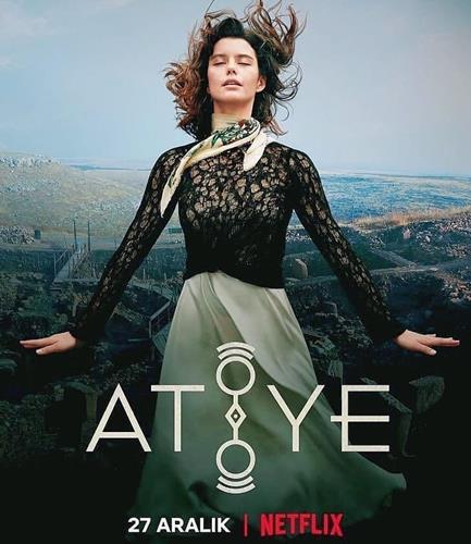 Netflix'in ikinci Türk yapımı dizisi Atiye'nin fragmanı yayınlandı