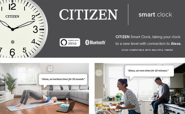 Citizen akıllı duvar saatini duyurdu