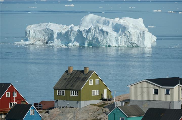 Grönland bölgesinin altında yeni nehir keşfedildi