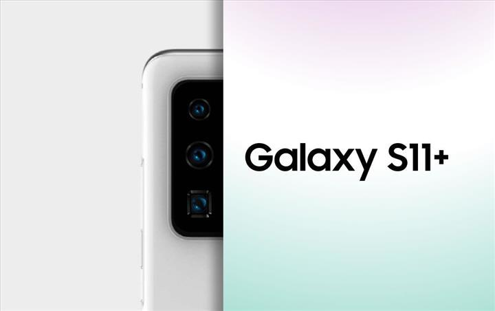 Galaxy S11 Plus'ın ilk görüntüsü sızdı