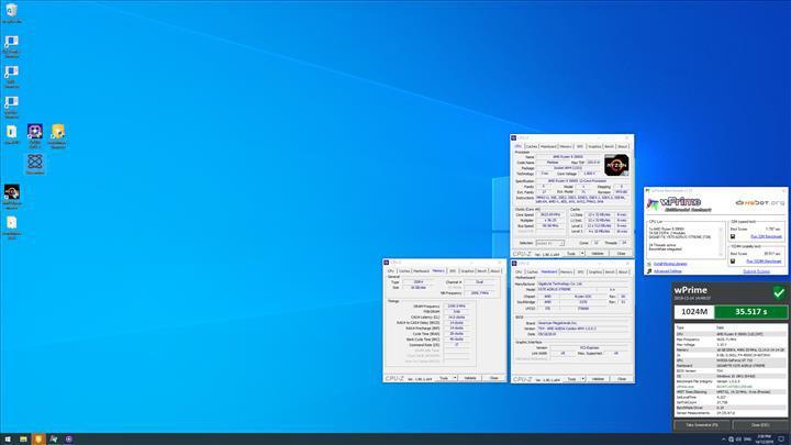 Ryzen 9 3900X 5.62 GHz'e aşırtıldı, 5.92 GHz'deki Core i9-9920X'i solladı