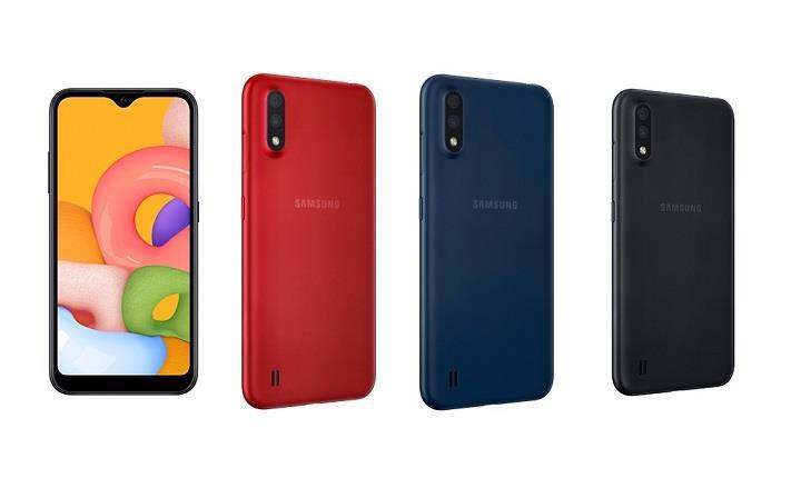 Samsung Galaxy A01 tanıtıldı