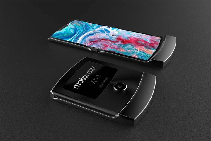 Huawei'nin yeni katlanabilir akıllı telefonu, Motorola Razr 2019'a benzeyecek