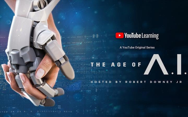 Robert Downey Jr. sunuculuğunda YouTube orijinal dizisi The Age of A.I. yayınlandı