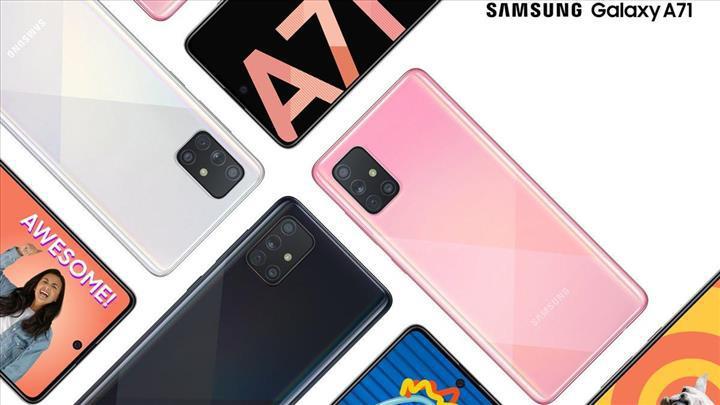 Samsung Galaxy A71'in Avrupa fiyatı belli oldu