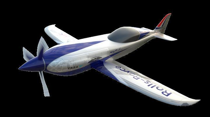 Rolls-Royce'tan en hızlı elektrikli uçak adayı: ACCEL