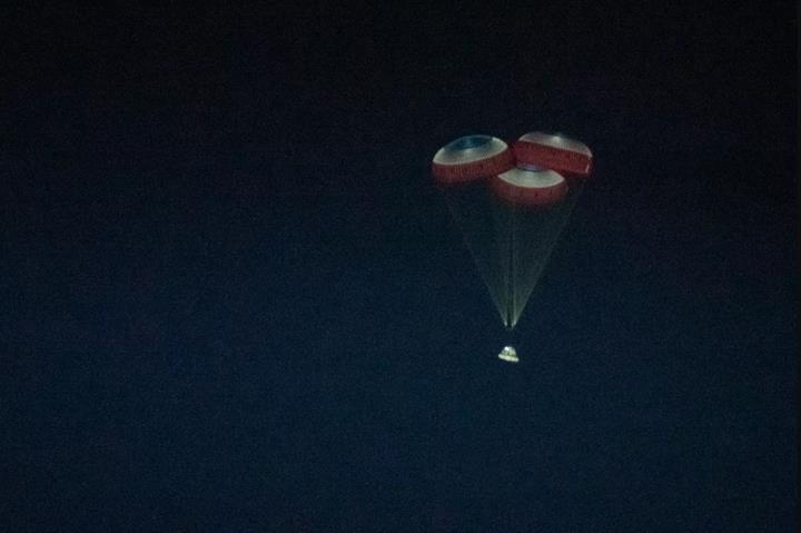 Boeing'in 'yanlış yörüngeye giren' uzay kapsülü, Dünya'ya geri döndü
