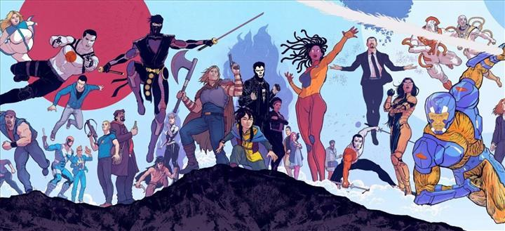 Valiant süper kahramanları yakın zamanda yeni nesil video oyunlarına kavuşacak