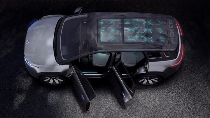 Tek tuşla 9 camı birden açılabilen elektrikli SUV: Fisker Ocean