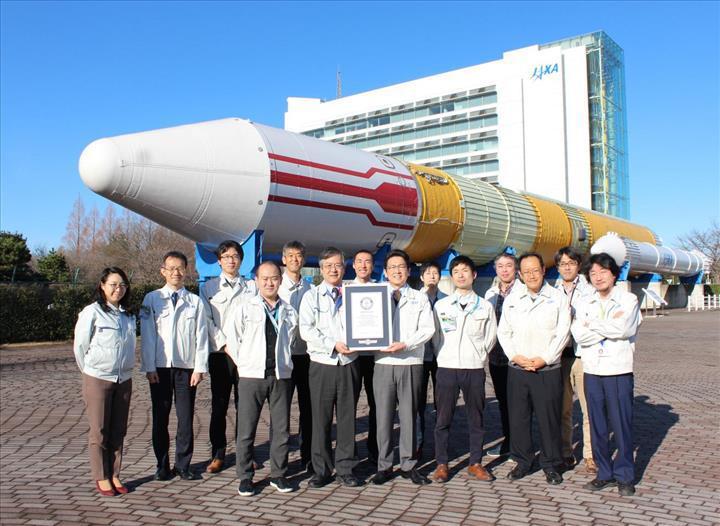 Japon Dünya gözlem uydusu, Guiness Rekorlar Kitabı'na girdi