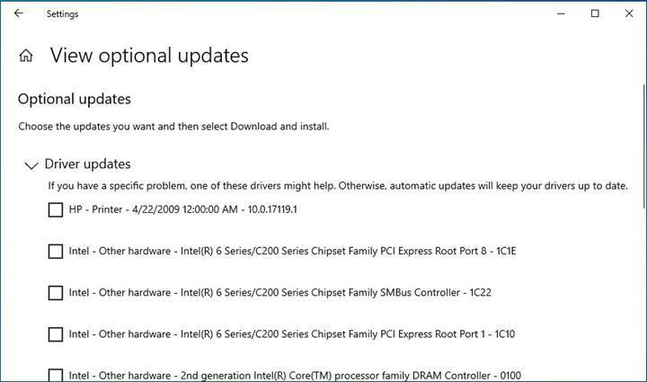 Microsoft, Windows 10'da sürücü ve güncellemelerin yüklenmesini kolaylaştıracak