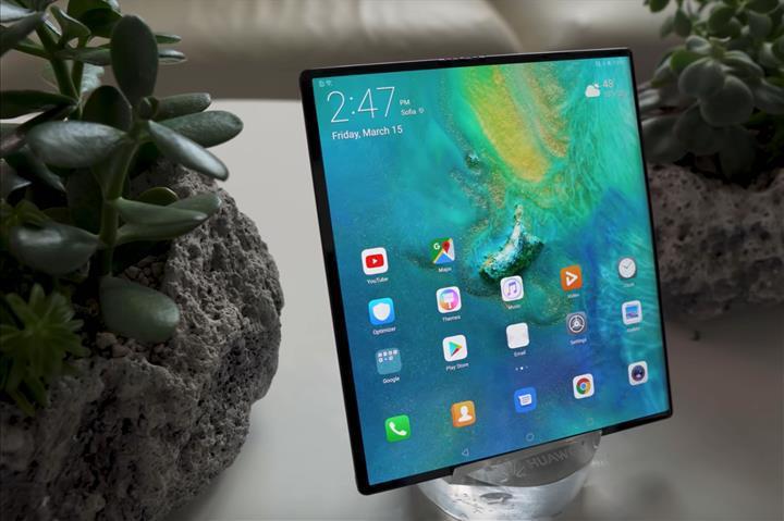 Yeni nesil Huawei Mate X, 2020'nin ikinci yarısında piyasaya sürülecek